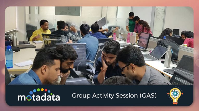 Motadata Group Activity Session
