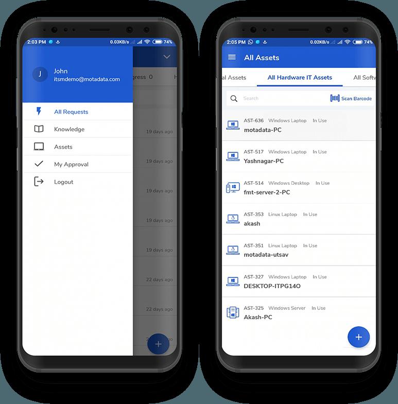 ITSM Mobile App